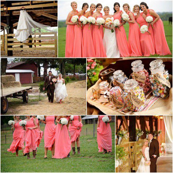 Country Rustic Barn Weddings: Florida Country Barn Wedding At Santa Fe River Ranch