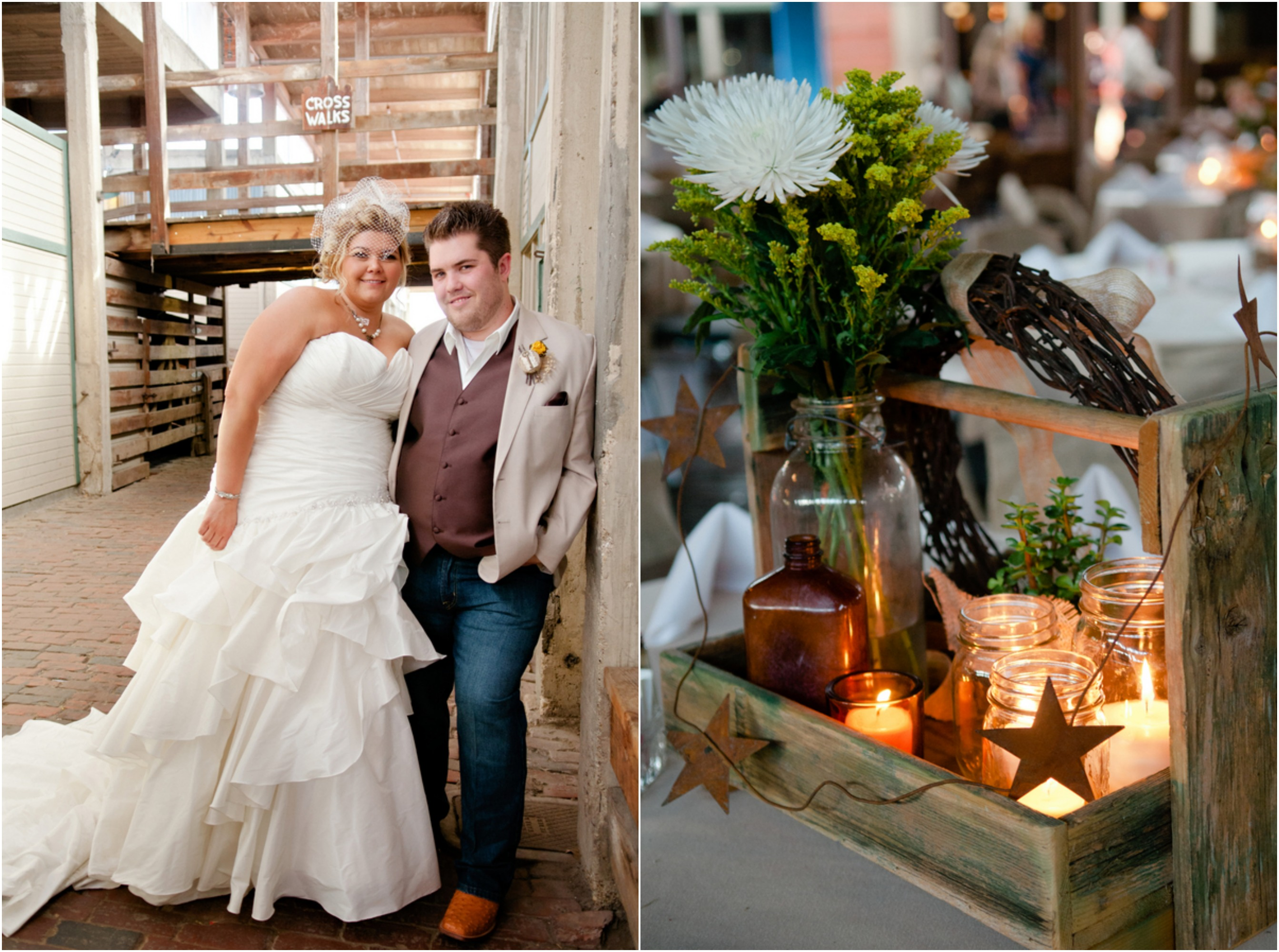 Texas Country Wedding With Vintage Decorations - Rustic ... - photo#6