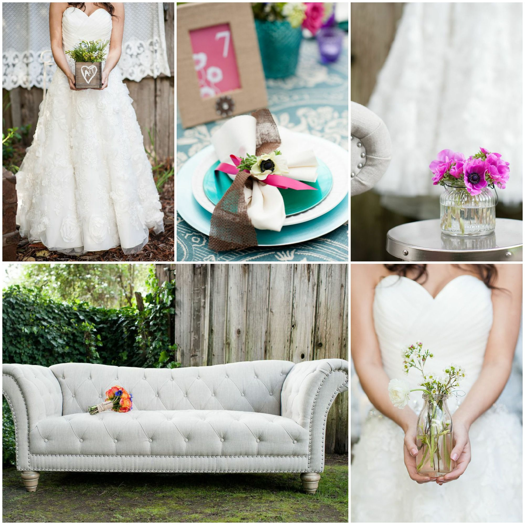 Bright & Colorful Wedding Inspiration