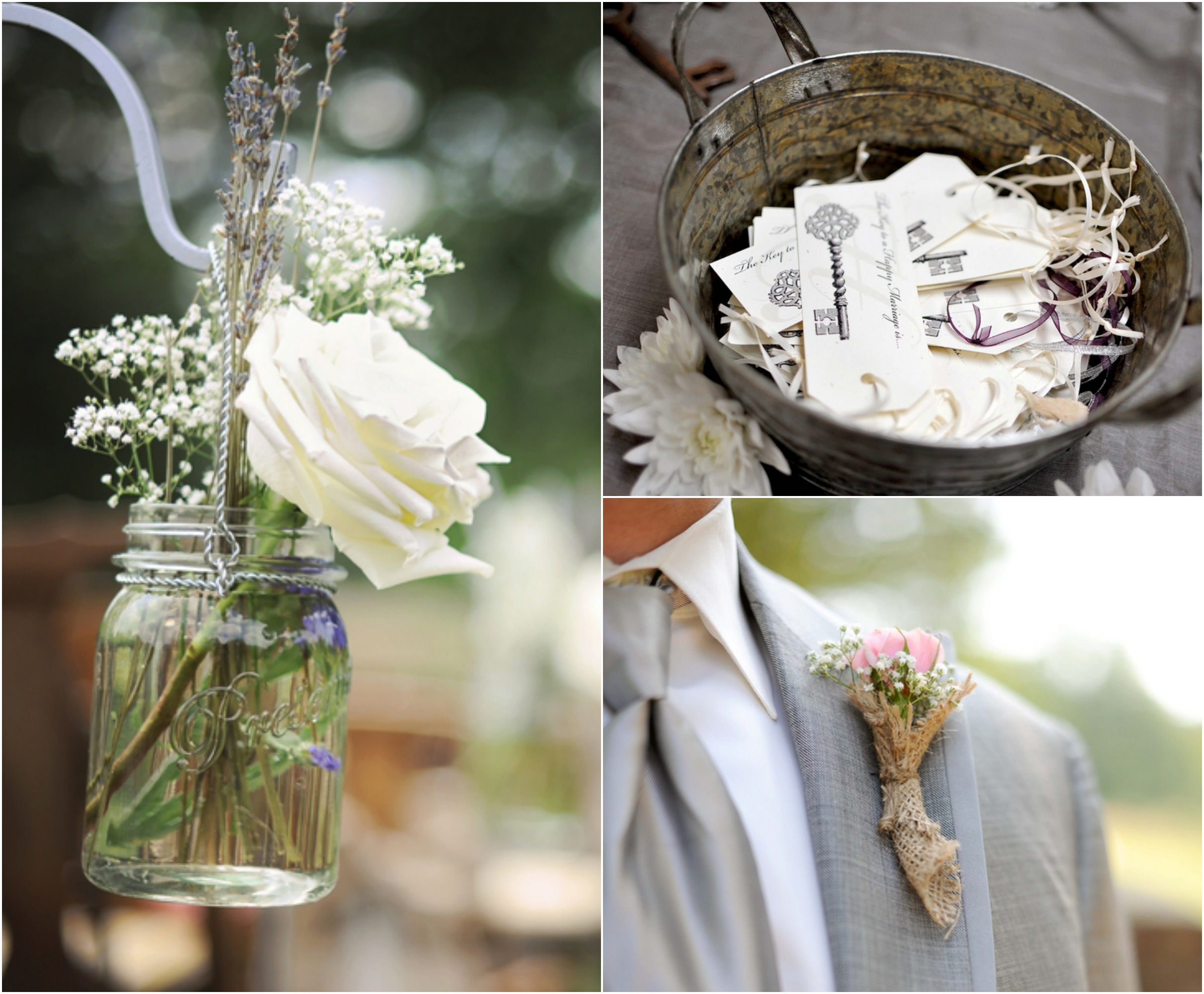 Flower Ideas For A Country Wedding