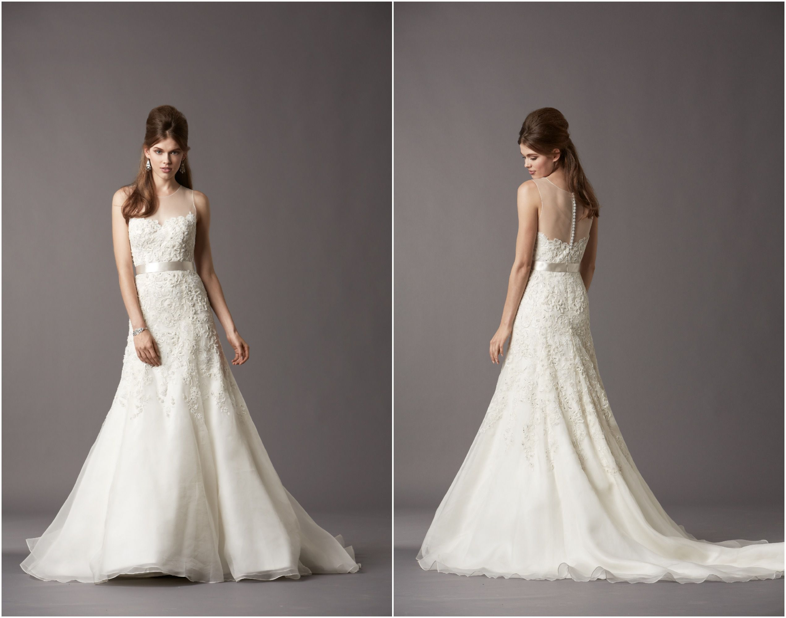 half-lace-wedding-gown