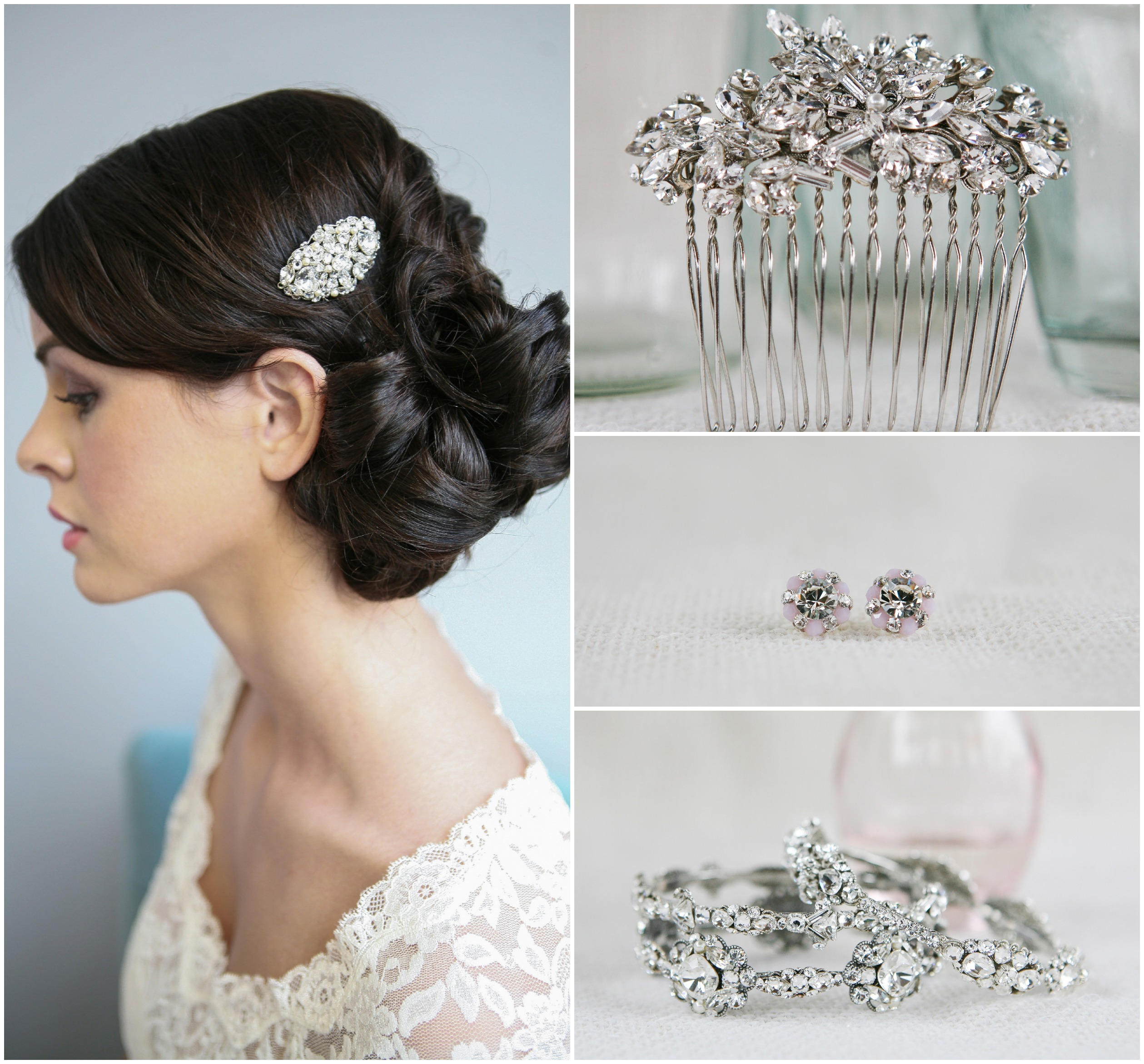 jewelry-for-a-vintage-wedding (2518×2343) | bridal hair styles