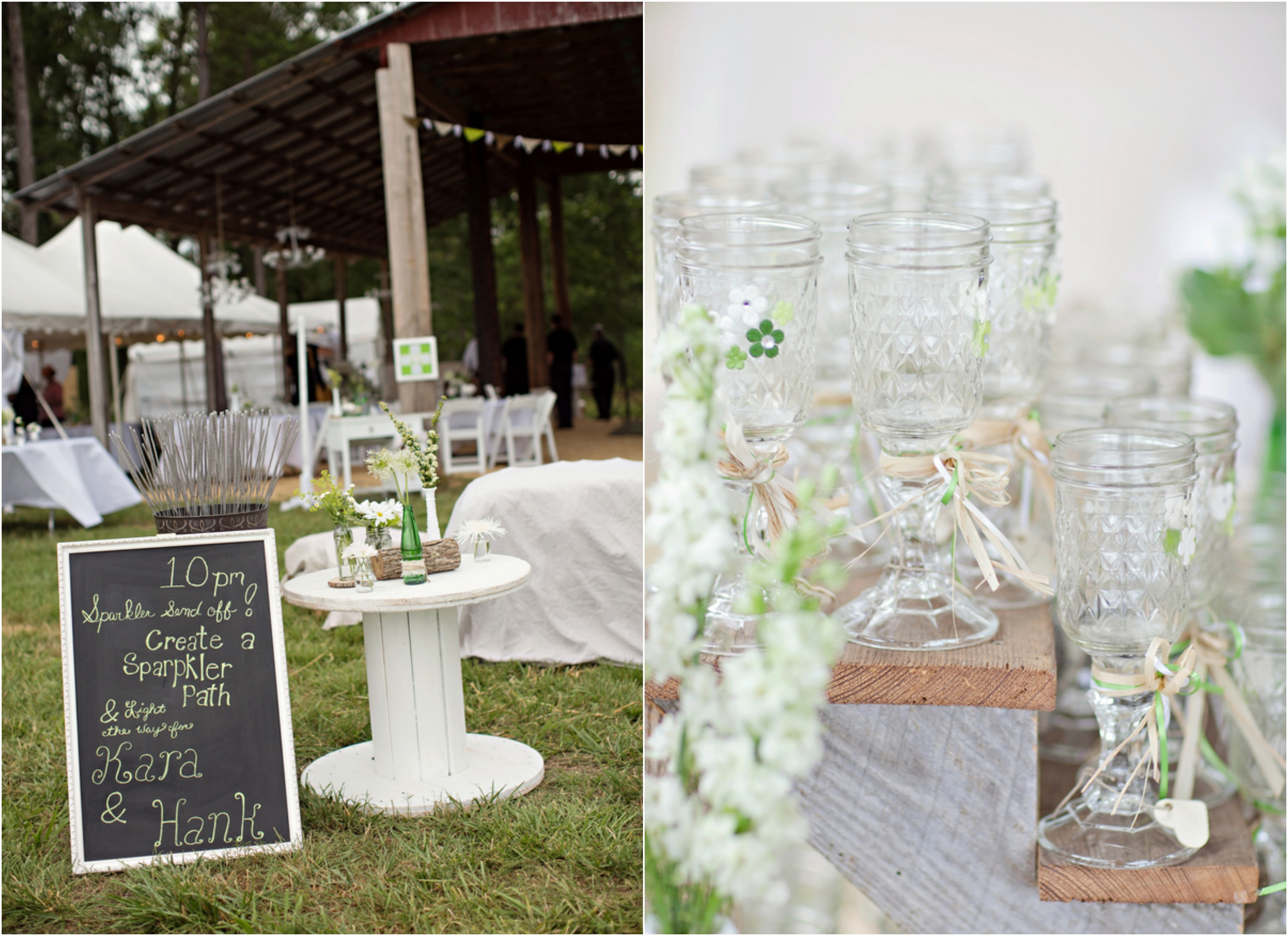 Elegant Country Style Wedding Centerpieces – Wedding