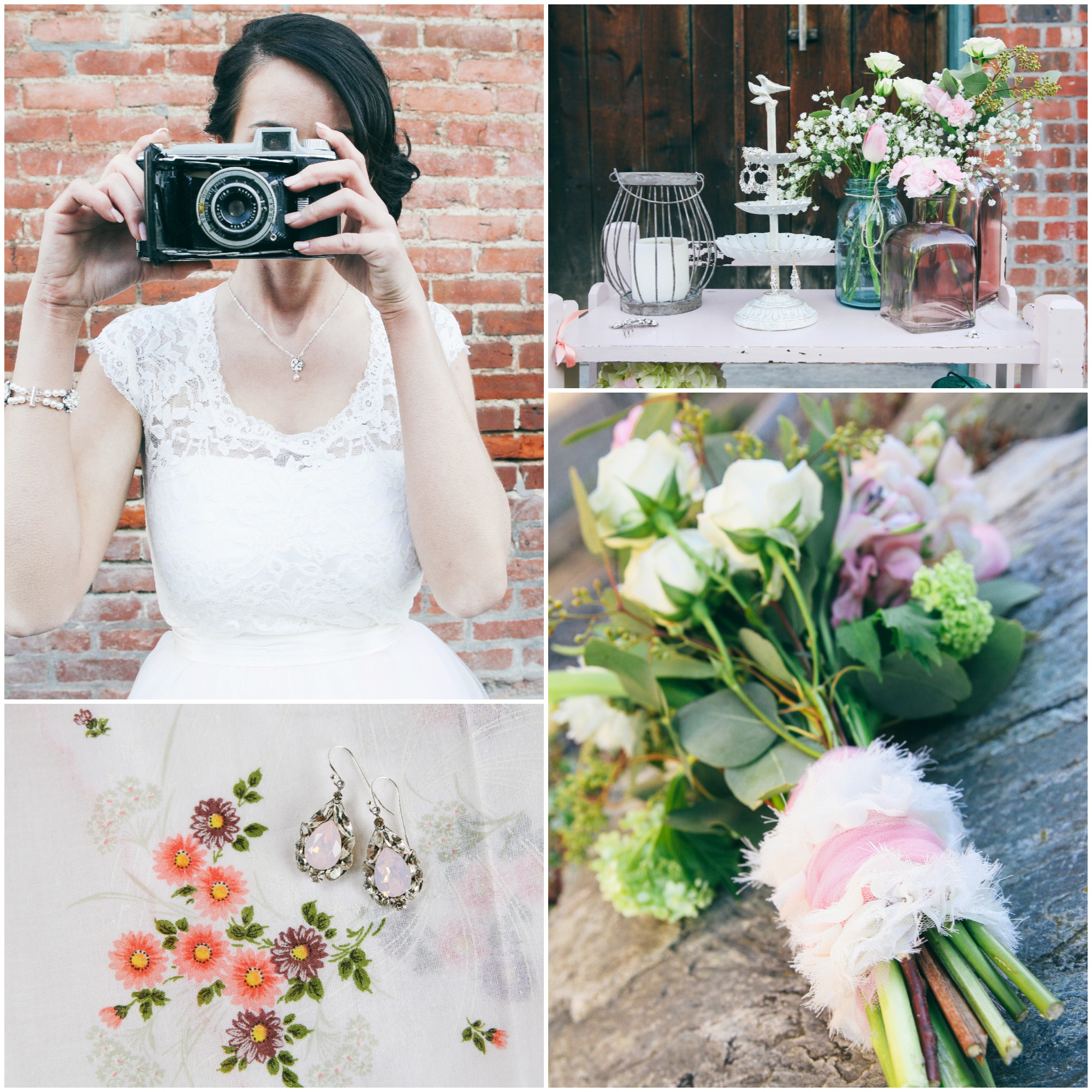 Fall Vintage Wedding Ideas: Shabby Chic Style Wedding Inspiration