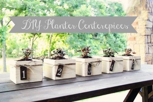 Planter Centerpiece s DIY Project