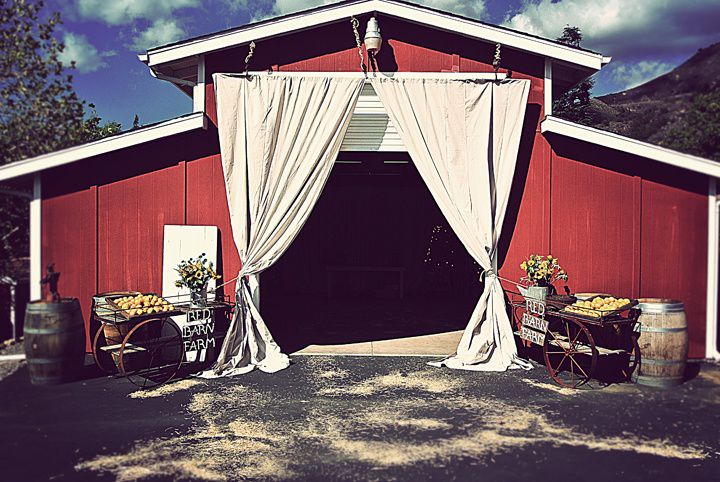 The Red Barn Ranch Venue In Ca