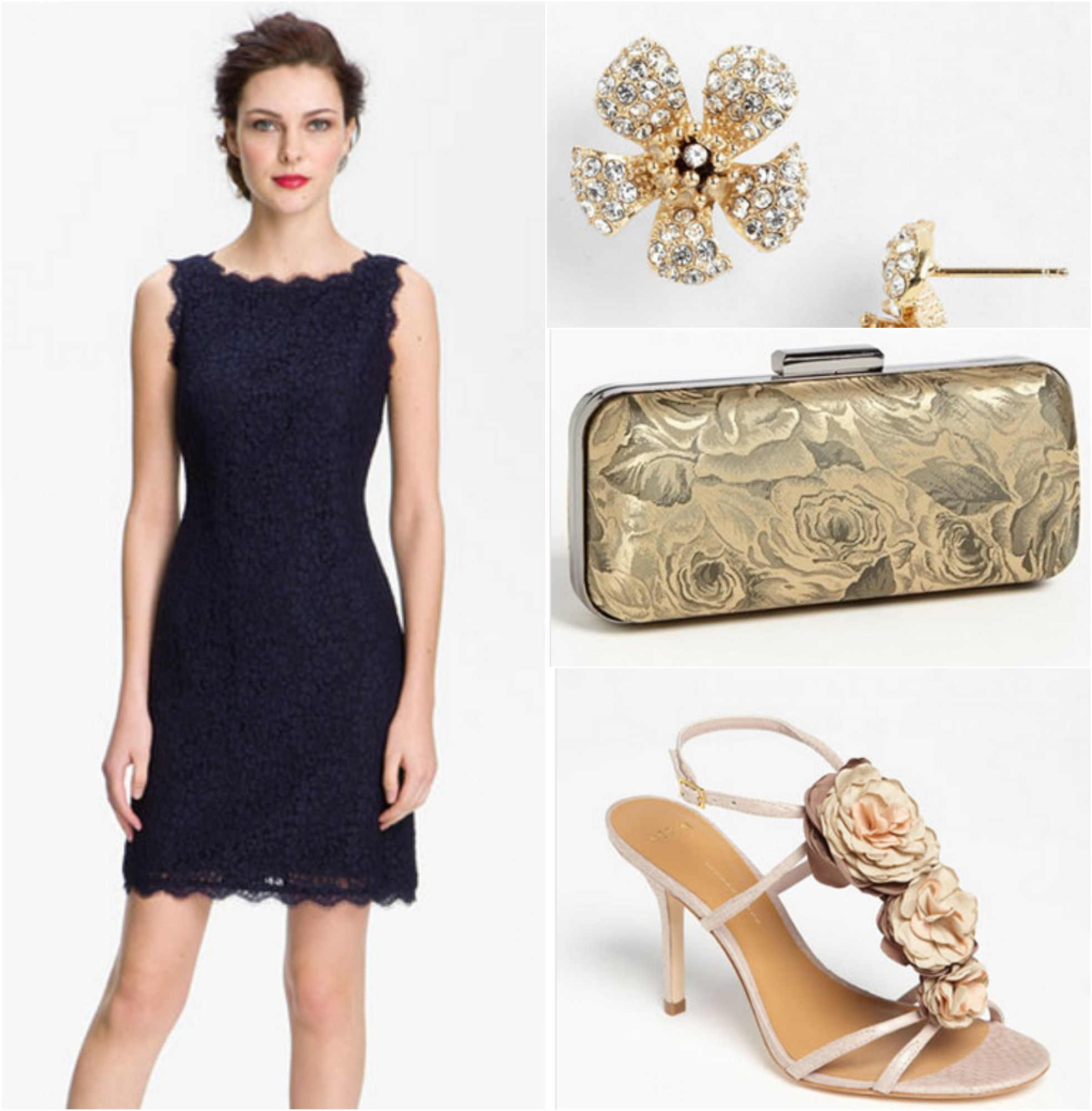 4 ways to wear a bridesmaid dress rustic wedding chic for What kind of shoes to wear with wedding dress