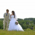Rustic Chic Country Wedding Couple