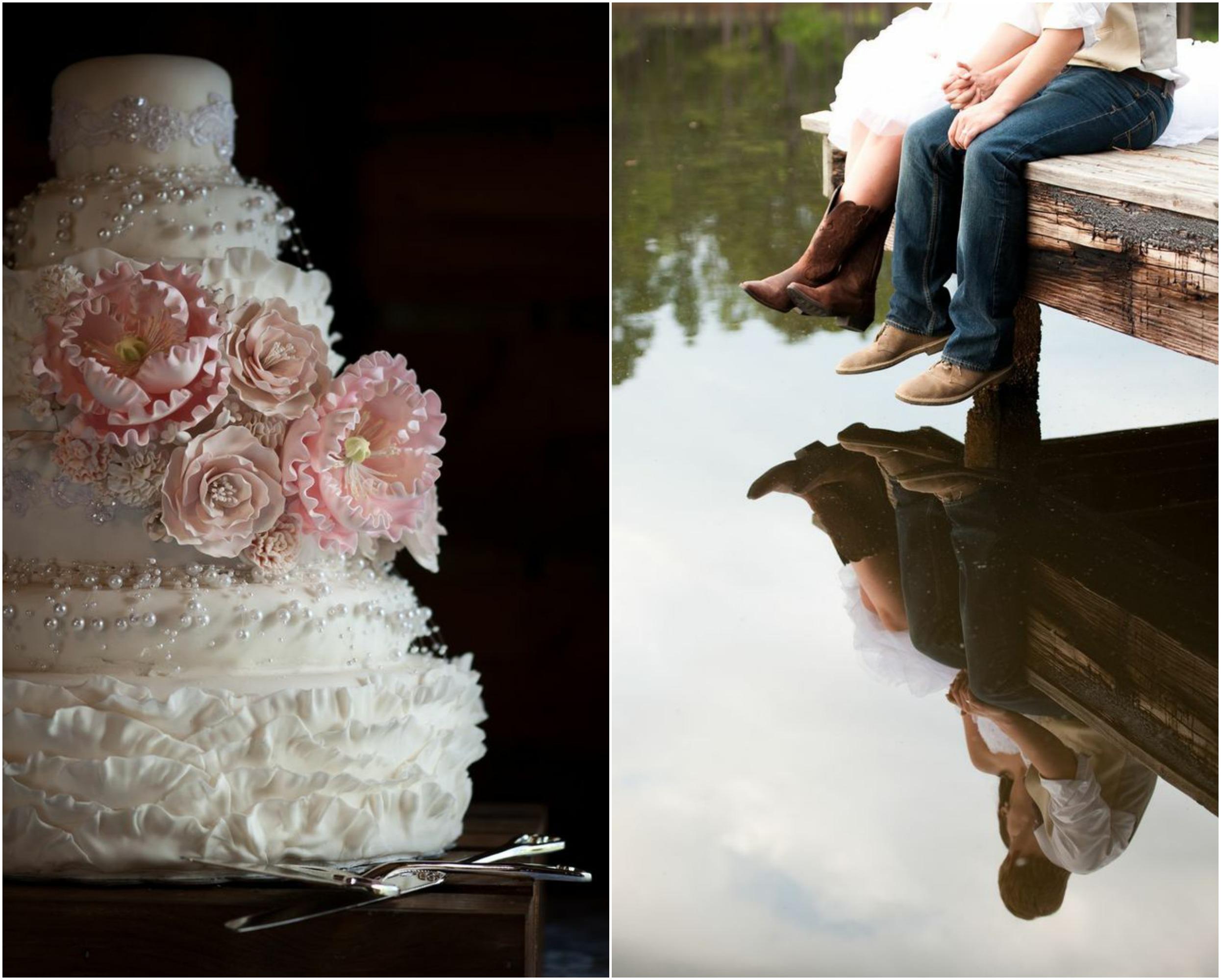 Country Lakeside Wedding Rustic Wedding Chic