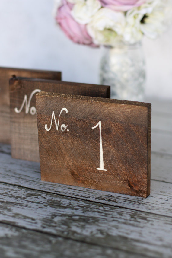 How To Find The Perfect Rustic Wedding Table Numbers