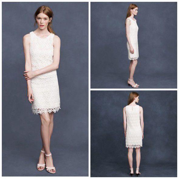 Short Lace Dress | J.Crew