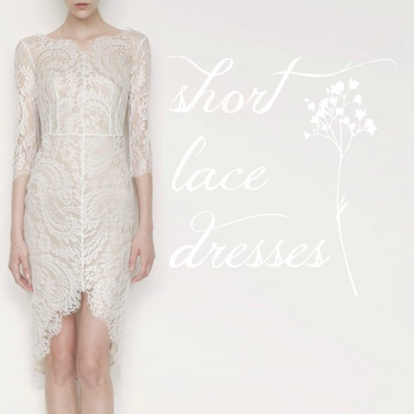 Short Lace Dresses