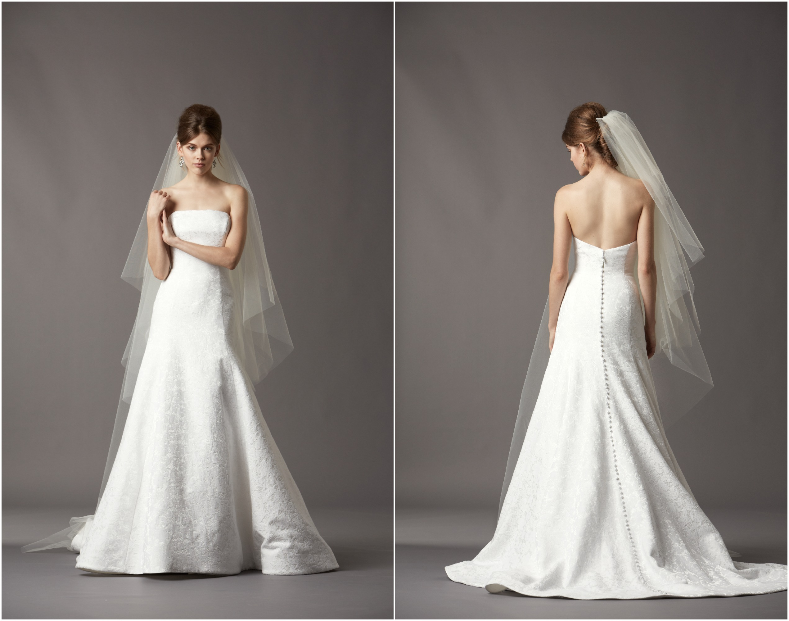 Chic And Simple Wedding Dresses By Cabotine: Watters Fall 2013 Collection