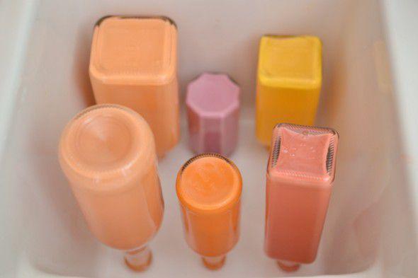 Step 5 painted vases diy