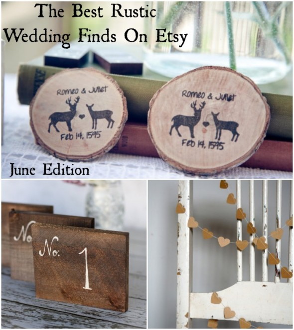 The Best Rustic Wedding Finds On Etsy