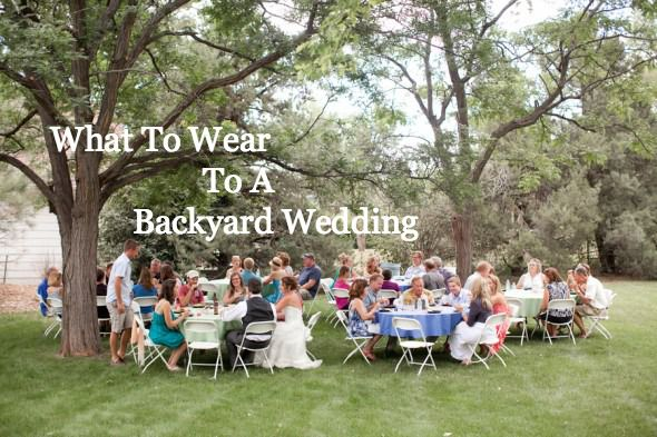 6 outfits to wear to a backyard style wedding rustic for Backyard wedding dresses guest