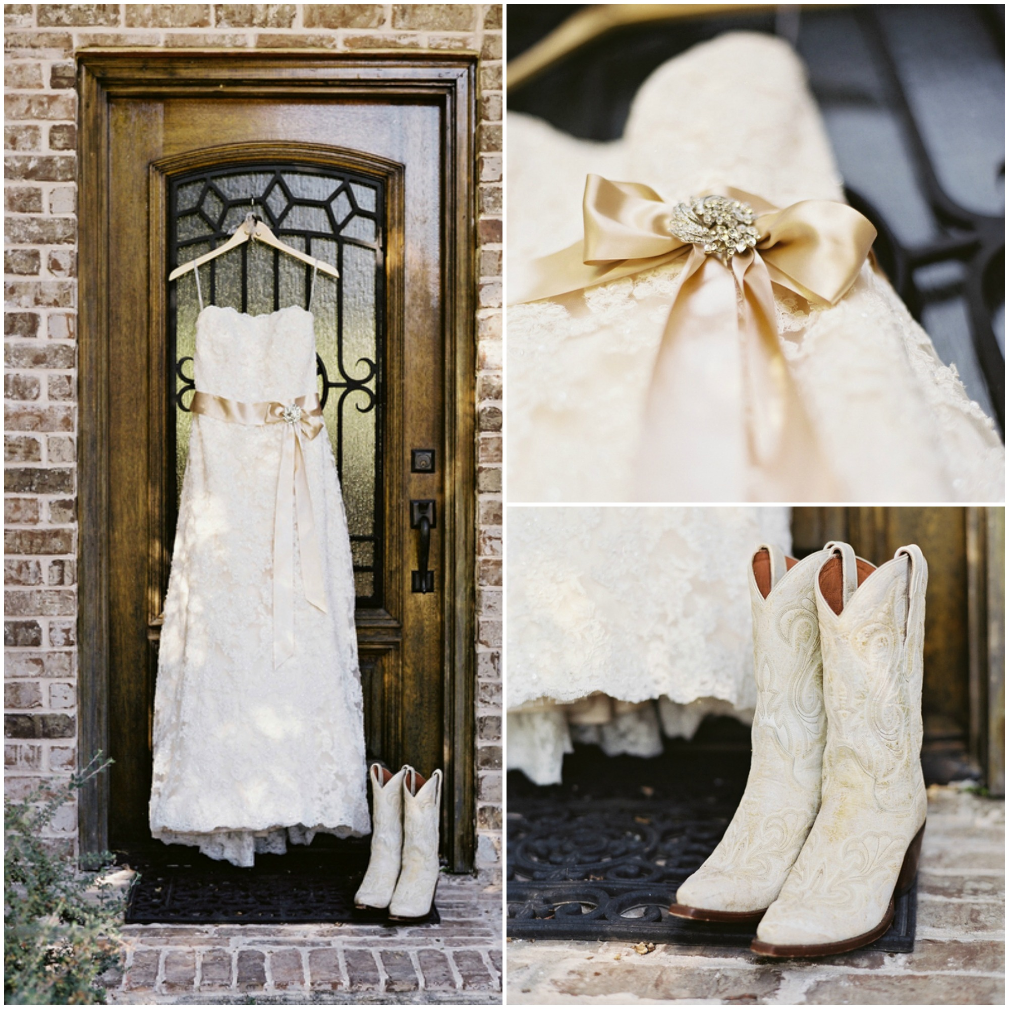 Wildcard Wednesday Cowboy Boots Fantastical Wedding Stylings