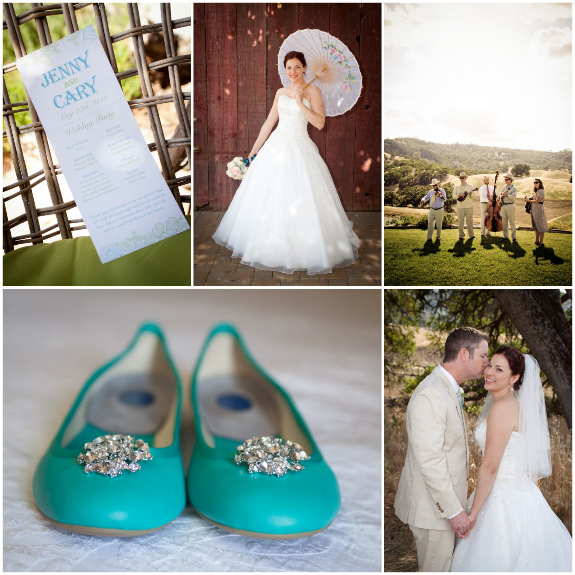 California Country Chic Wedding At Taber Ranch