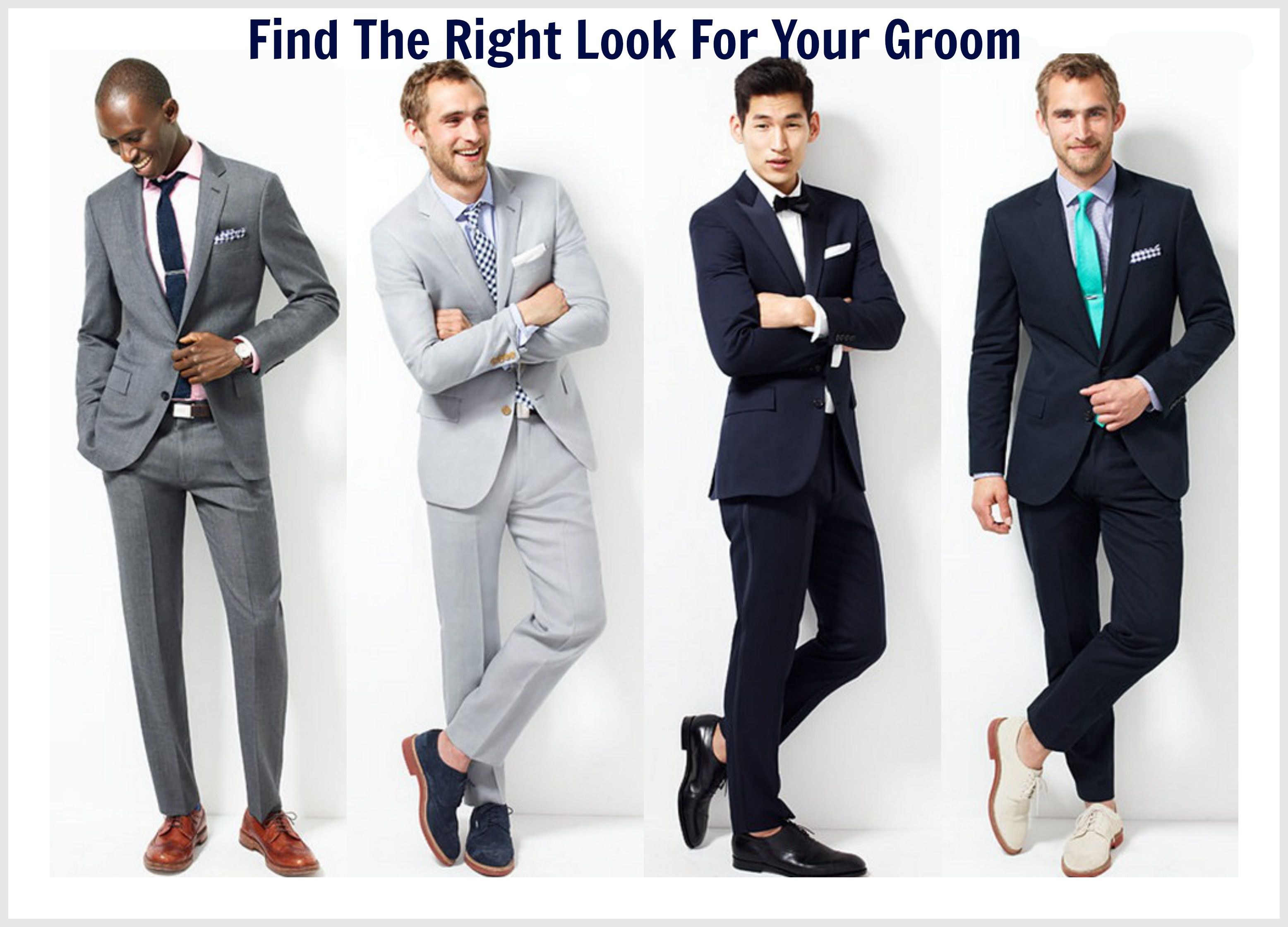 Finding The Right Outfit For Groom