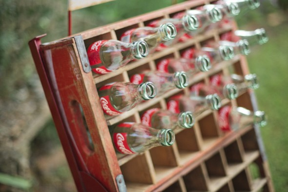Coke Bottles Used At Wedding