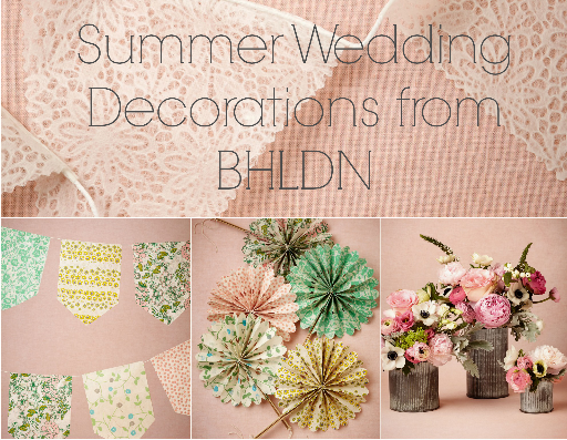 All the best decorations from BHLDN