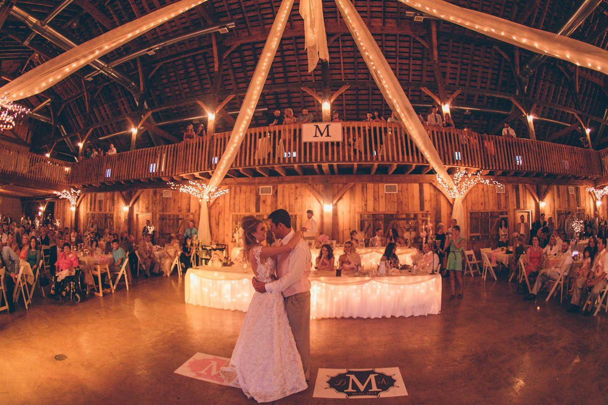Dancing At Barn Wedding