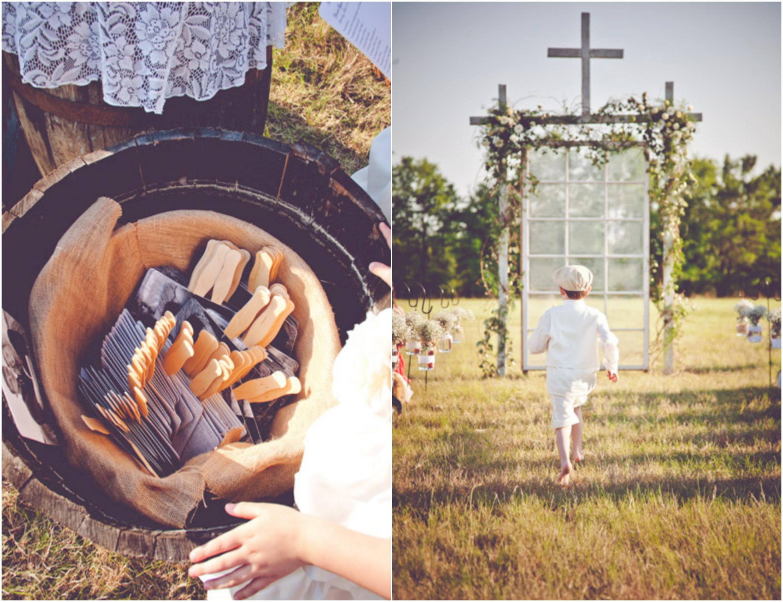 Burlap Inspired Country Wedding: Trudie + Robbie