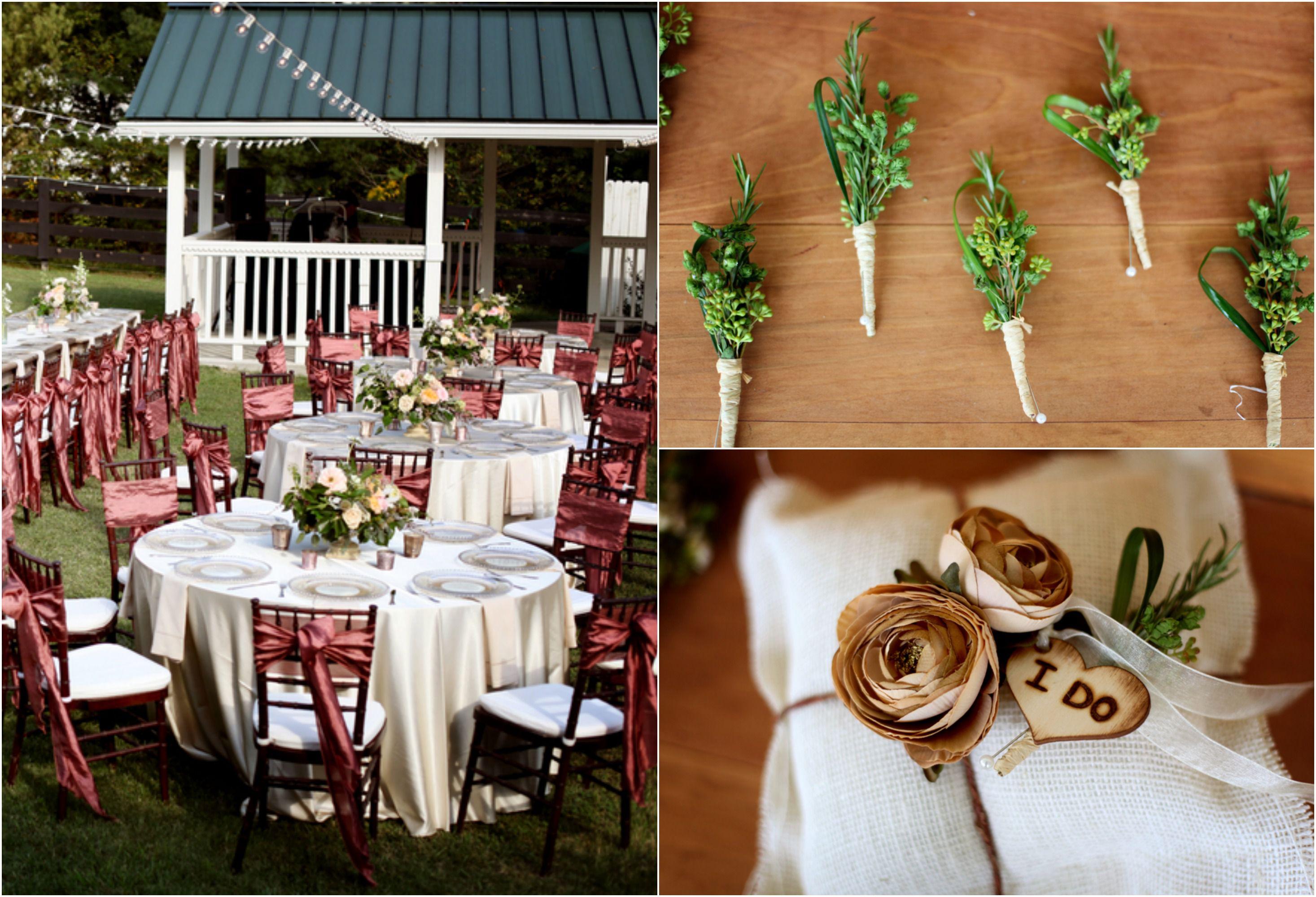 Old Doors Repurposed Wedding