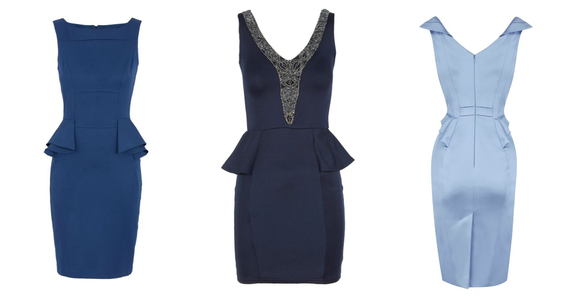 What to Wear to a Country Wedding : Peplum Dresses - Rustic Wedding Chic