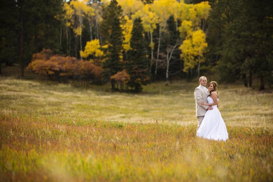 Yellow Pines Wedding | Bride & Groom