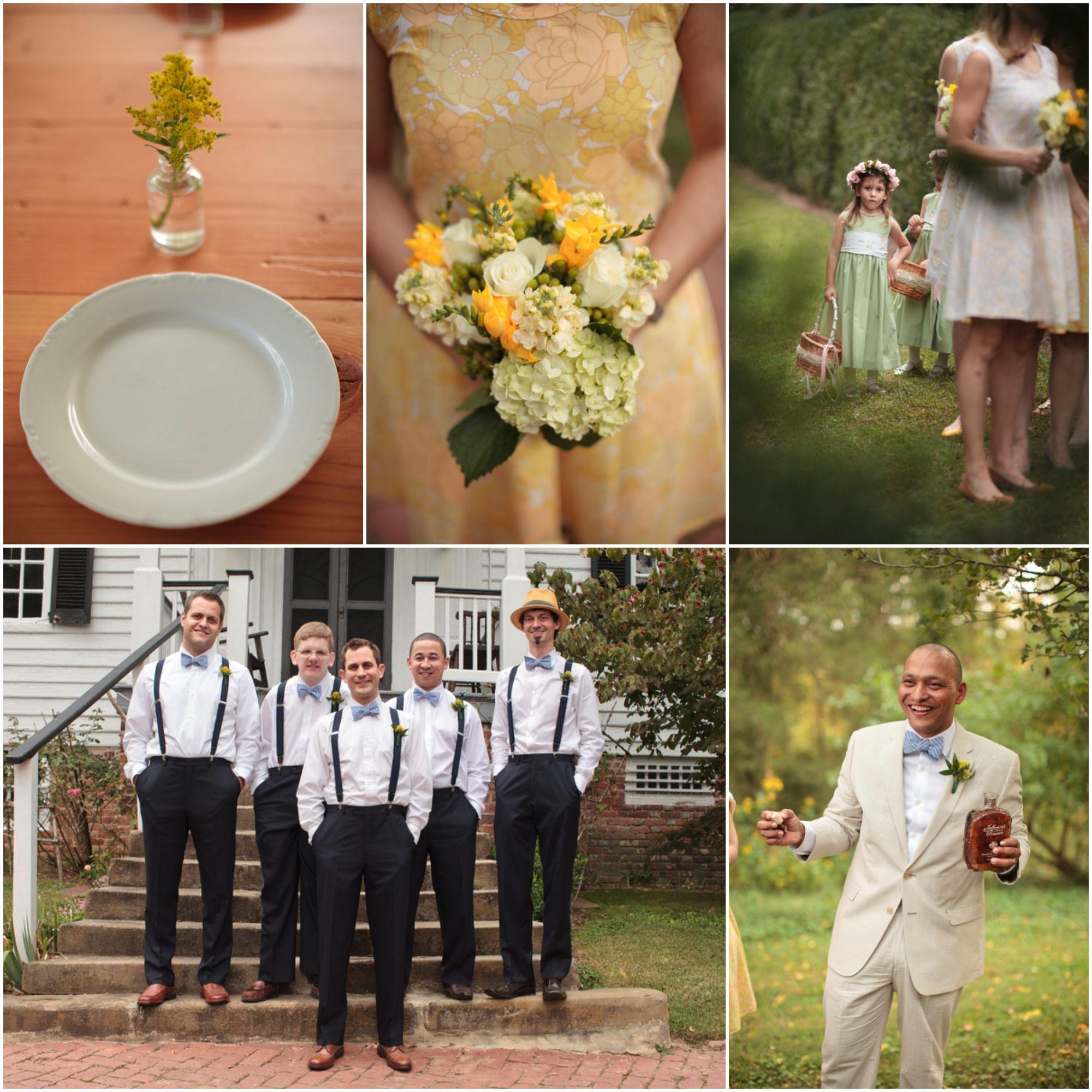 Rustic Wedding Chic: Virginia Farm Wedding At Tuckahoe Plantation