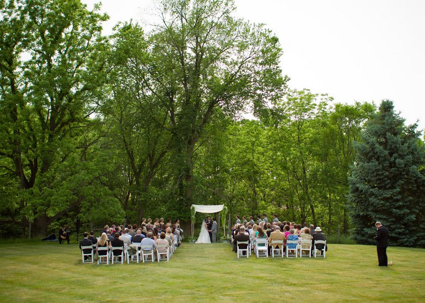 countryside wedding ceremony