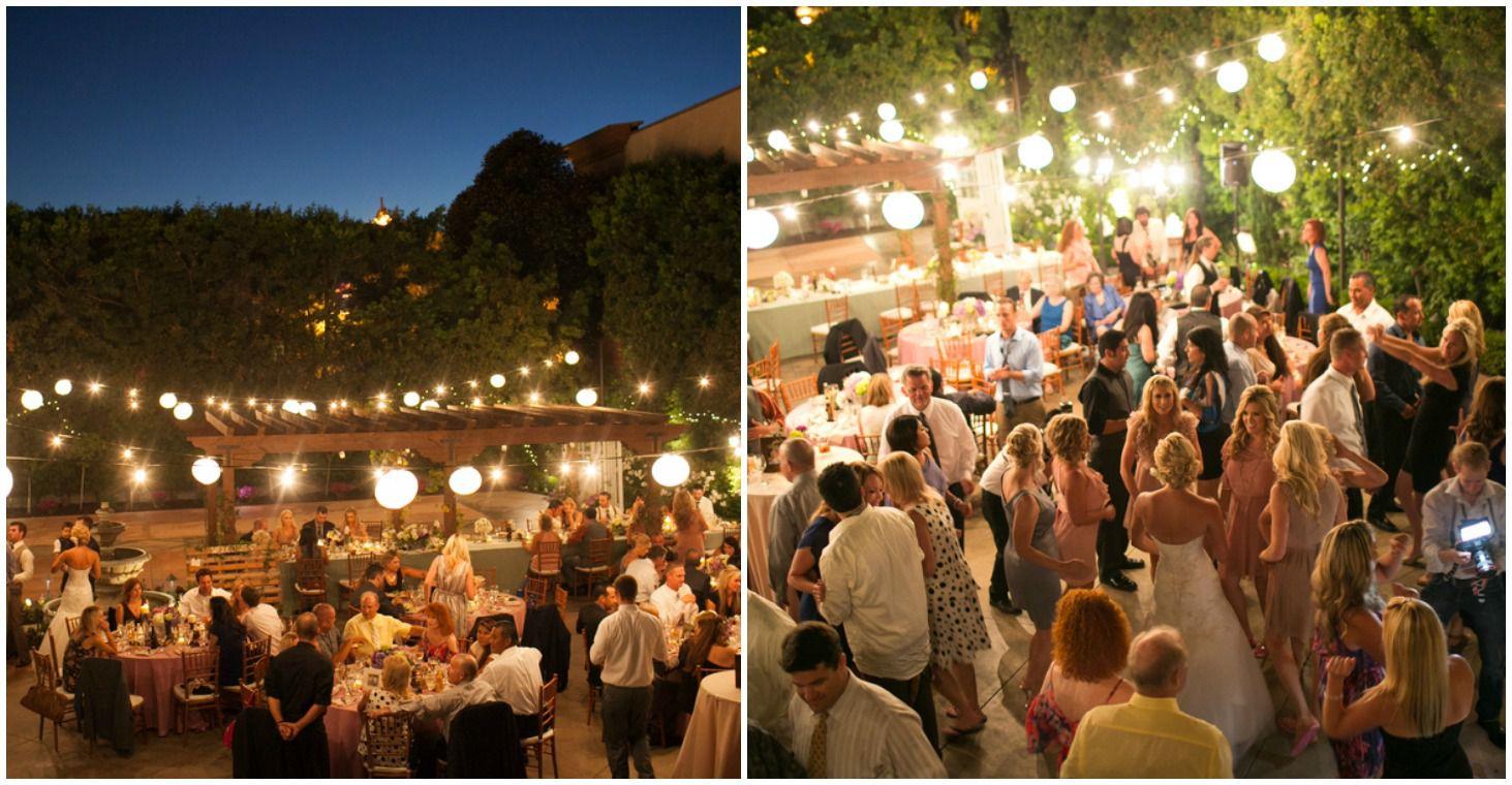 evening wedding courtyard.jpg.optimal - barn weddings in california
