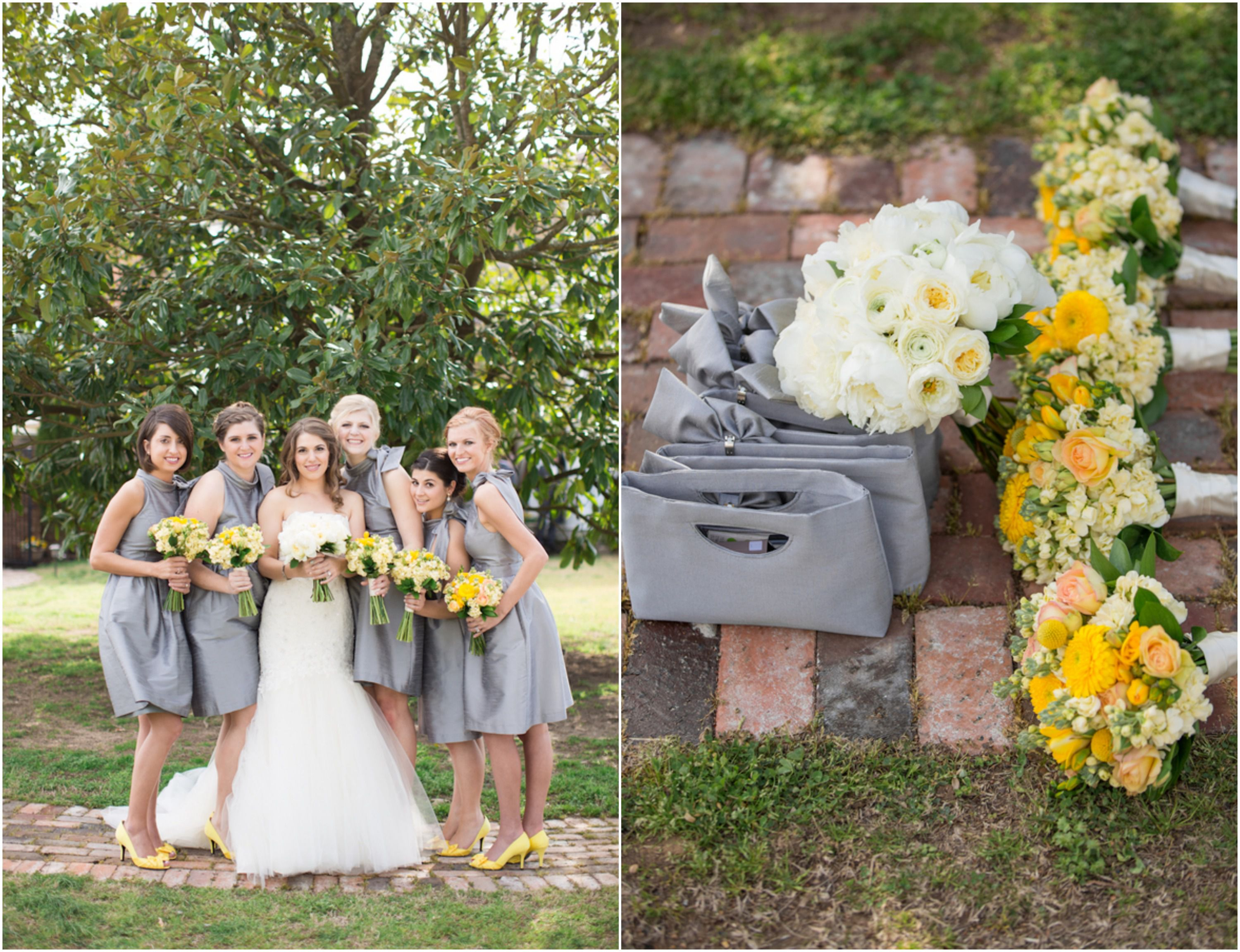 Country Yellow Themed Wedding - Rustic Wedding Chic