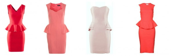 What to Wear to a Country Wedding | Pink Peplum Dresses