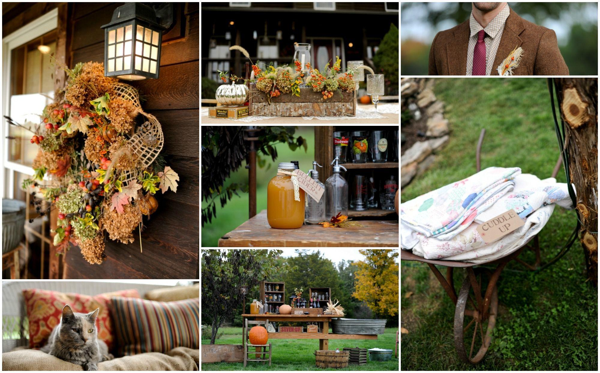 Vintage Farm Wedding Rustic Wedding Chic