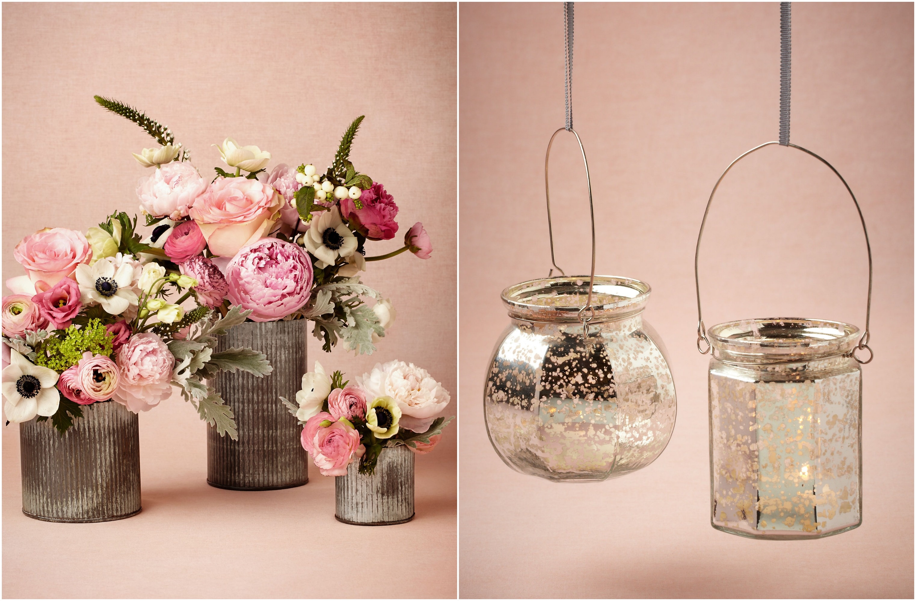 Summer wedding decorations from bhldn rustic chic