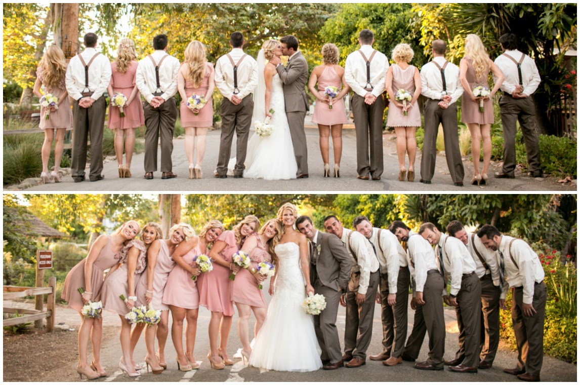 California Courtyard Wedding