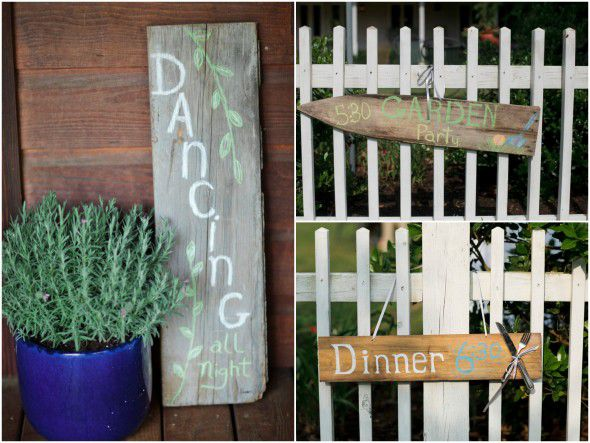 Wood Signs For Wedding