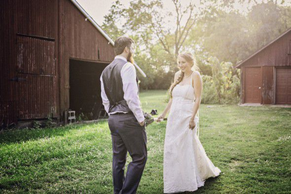Simple Wedding Gown