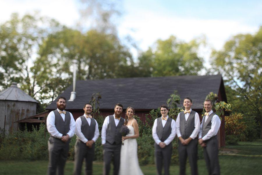 Barn Wedding In Ohio- Rustic Wedding Chic