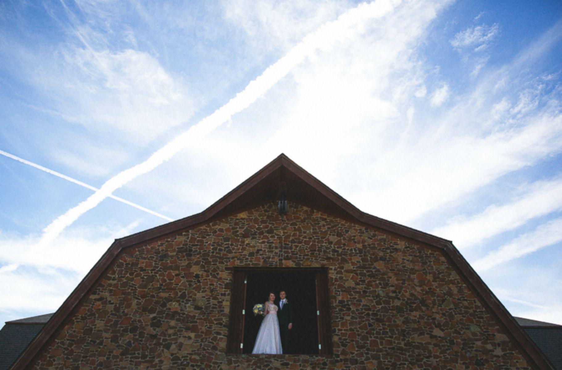 January Barn Wedding