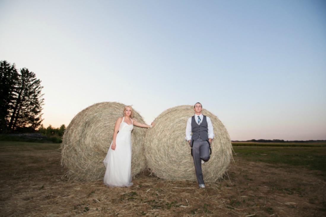 Wisconsin Farm Wedding - Rustic Wedding Chic