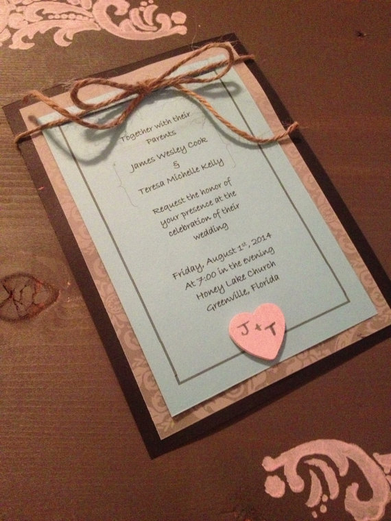 Burlap Invitations Wedding for great invitations sample