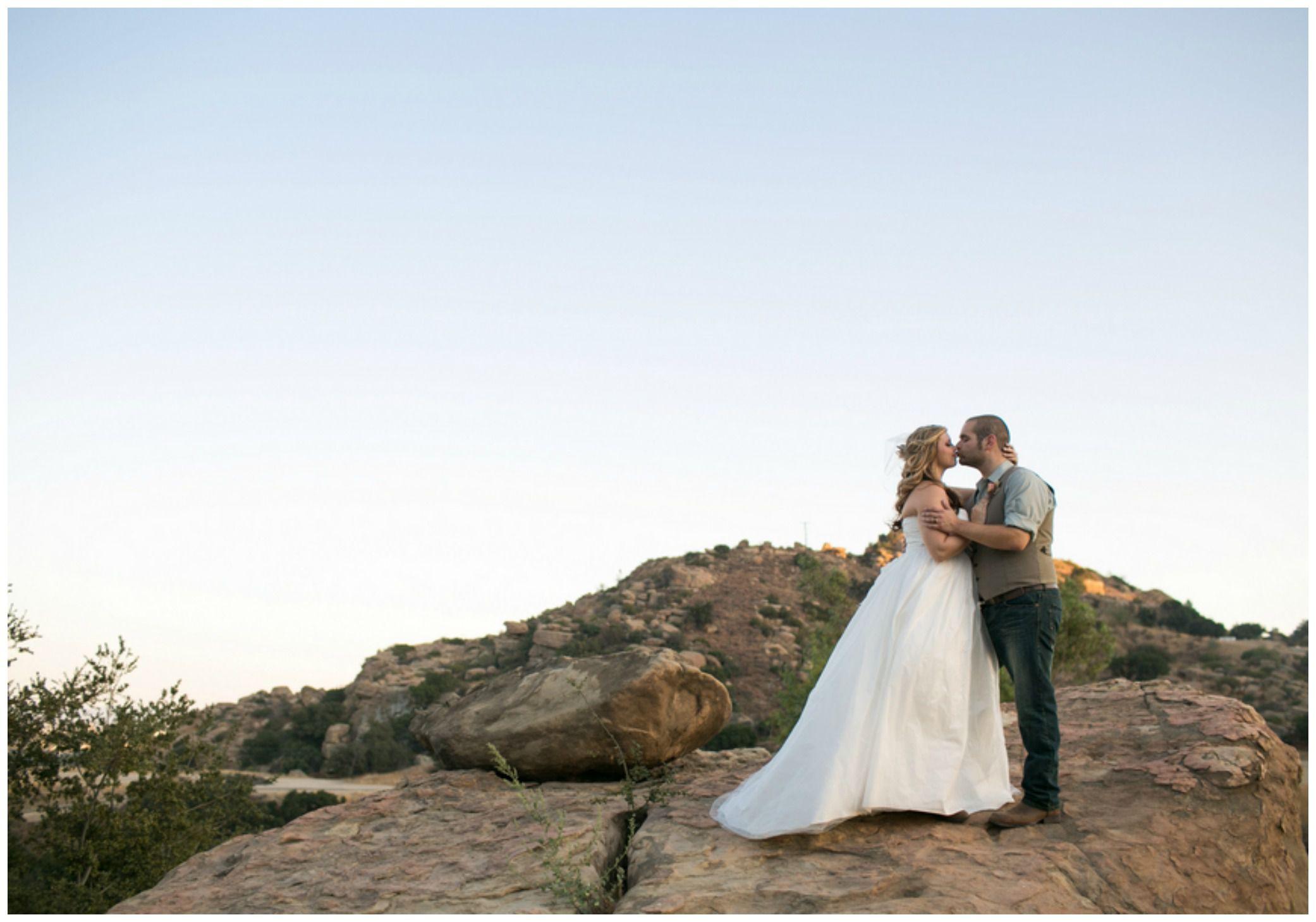 California Desert Rose Wedding