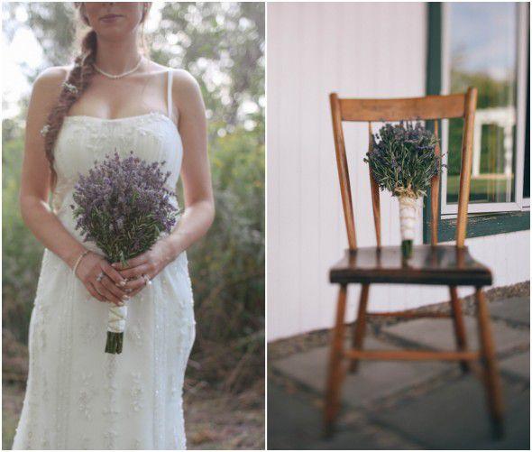 Lavender Wedding Bouquet