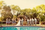 Santa Monica Poolside Wedding