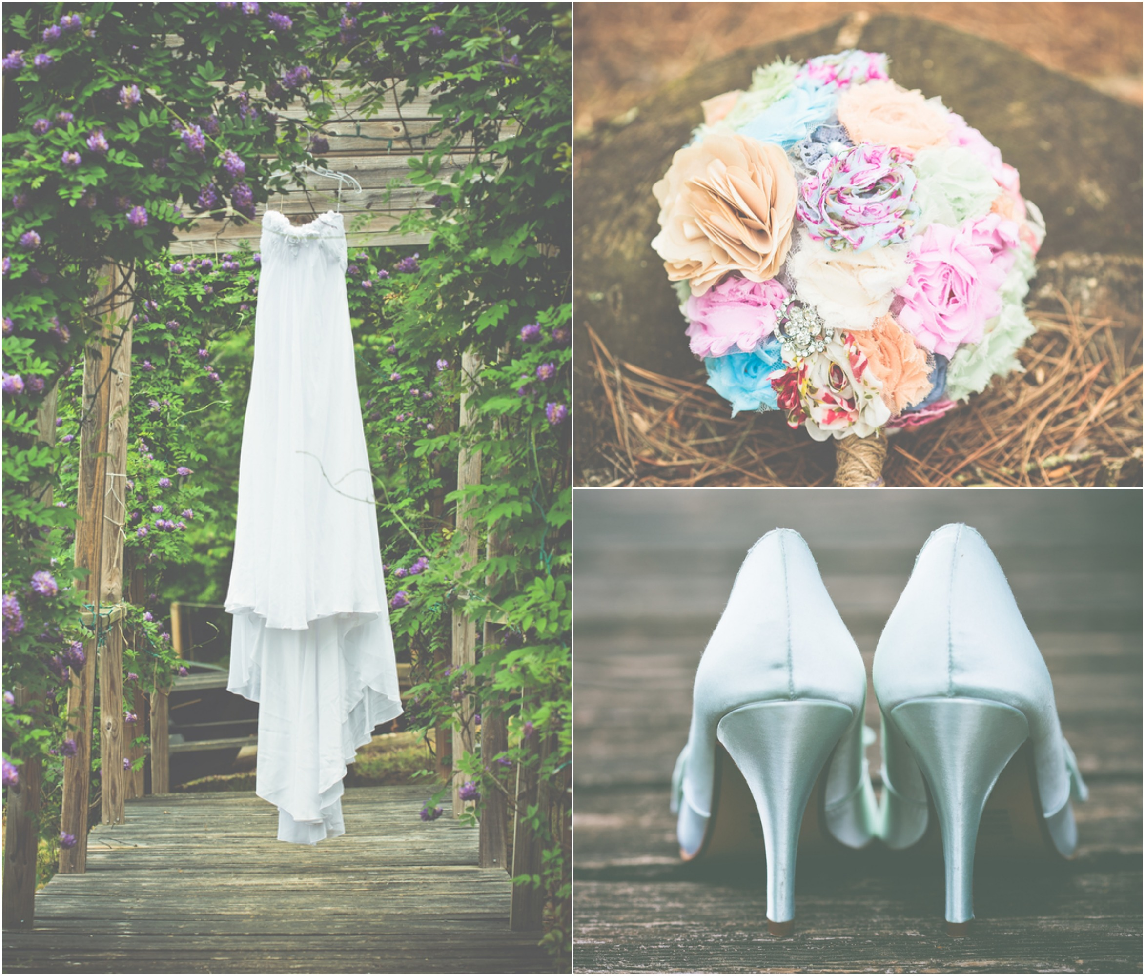 Southern barn wedding becky nathan rustic wedding chic for Southern country wedding dresses