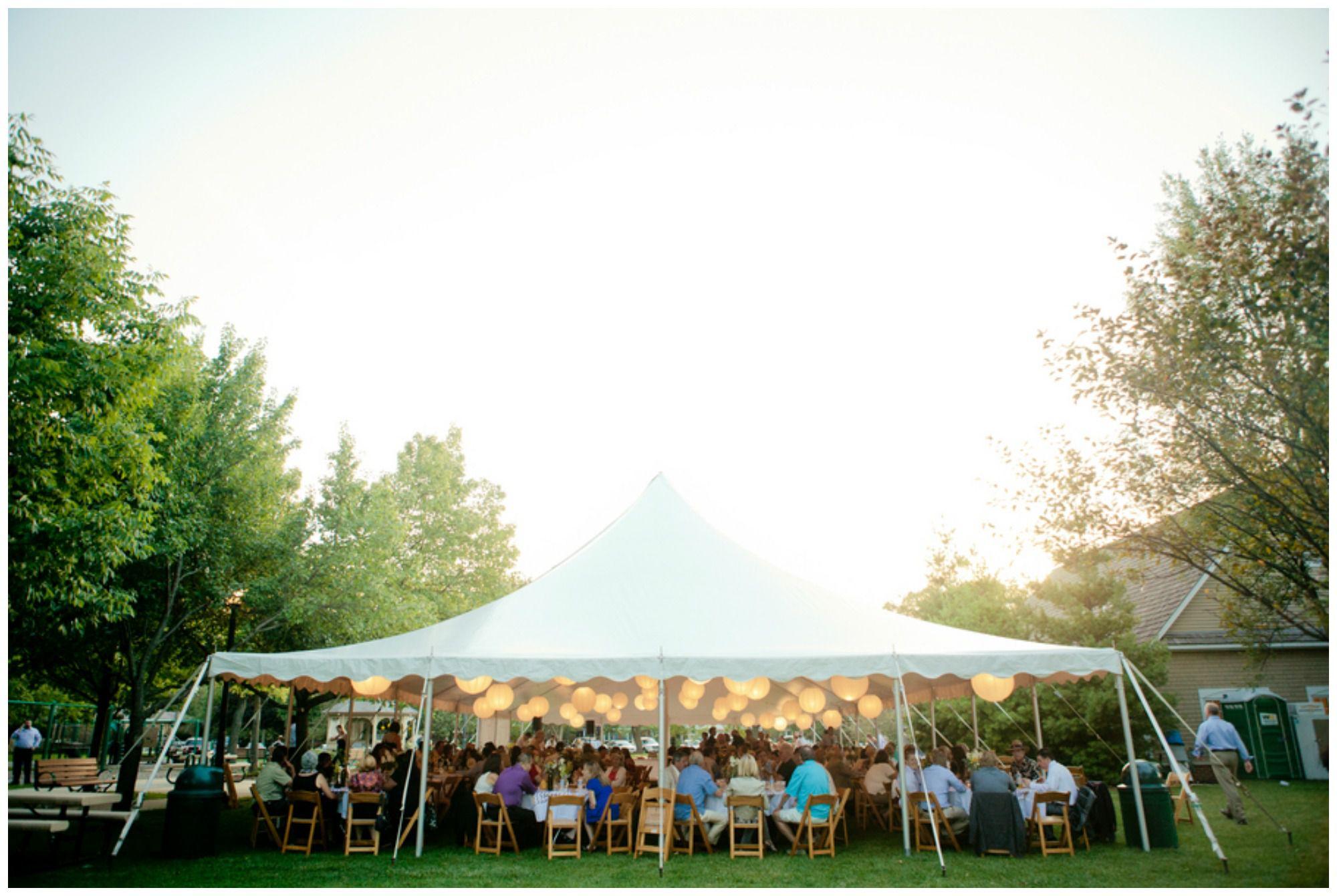 Chevron Theme Wedding