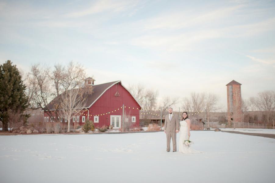 Rustic Wedding In Winter